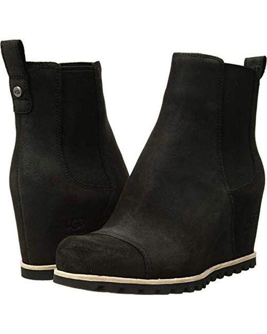 1ee757d9f37c Ugg - Black W Pax Fashion Boot - Lyst ...