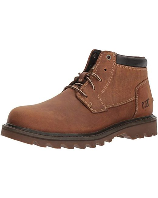 3176a771900ab5 Caterpillar Doubleday Fashion Boot in Natural for Men - Save 1% - Lyst