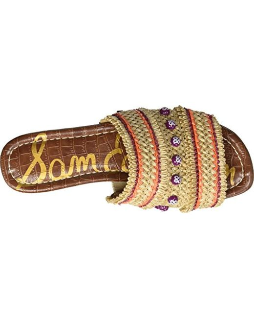 61fb0b68015c ... Sam Edelman - Multicolor Brandon Slide Sandal - Lyst ...