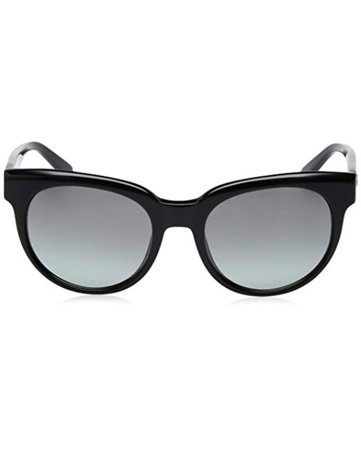 16c6464484683 Lyst - DKNY Acetate Woman Round Sunglasses
