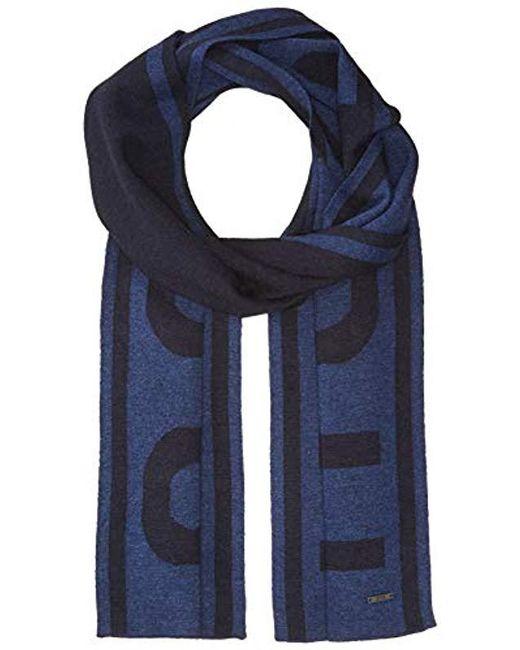 BOSS - Blue Ebrami Knitted Cap for Men - Lyst