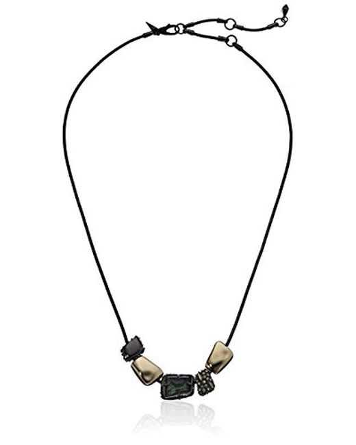 Alexis Bittar - Multicolor Fall 2017 Sliding Metal Bead Pendant - Lyst