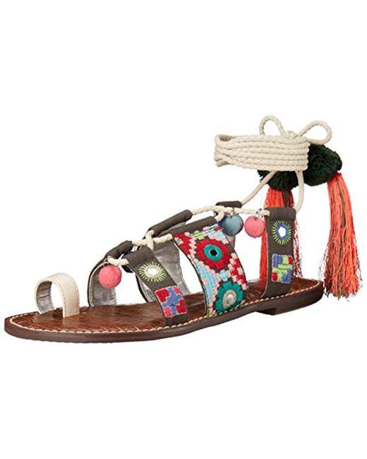 a772da1ef84 Sam Edelman - Multicolor Gretchen Gladiator Sandal - Lyst ...