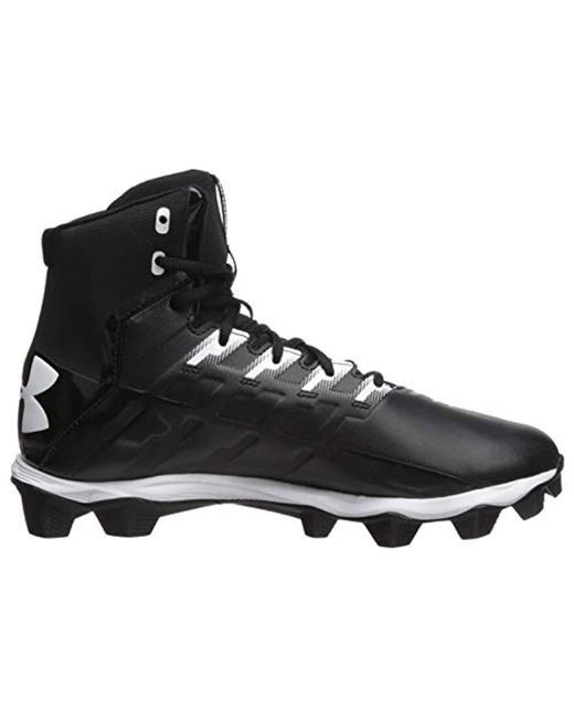 fea67a1bbc9a ... Under Armour - Black Renegade Rm Football Shoe for Men - Lyst ...