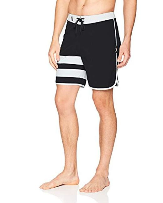 "Hurley - Black Block Party 18"" Inch Phantom Stretch Boardshort, for Men - Lyst"