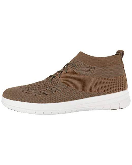 da31e616853 ... Fitflop - Multicolor Uberknitslip-on High Top Sneaker for Men - Lyst ...