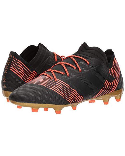 6295c9081 Lyst - adidas Nemeziz 17.2 Fg Soccer Shoe in Black for Men - Save 11%