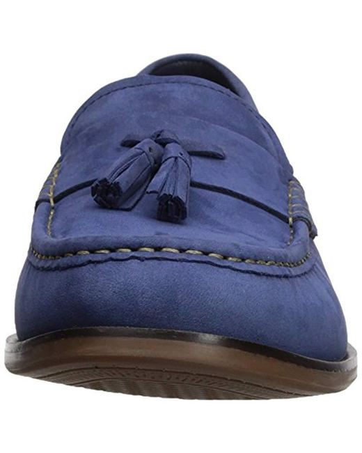 e2d51697393 ... Cole Haan - Blue Pinch Friday Tassel Contemporary Penny Loafer for Men  - Lyst ...