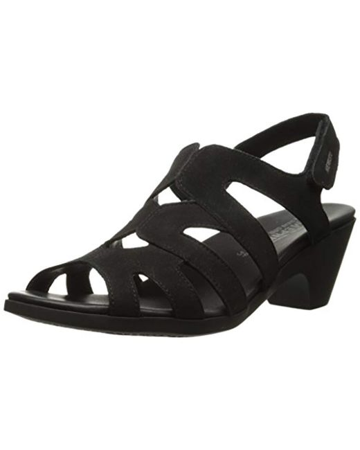 Mephisto - Black Coralie Dress Sandal - Lyst
