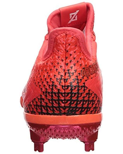 019baa49ae8 ... Adidas - Red Performance Adizero Afterburner 4 for Men - Lyst ...