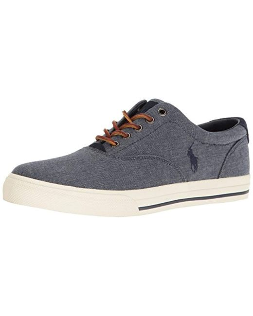 Polo Ralph Lauren - Blue Vaughn Sneaker for Men - Lyst