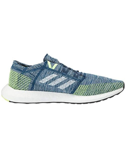 91ccc7a1c ... Adidas - Blue Pureboost Go for Men - Lyst ...