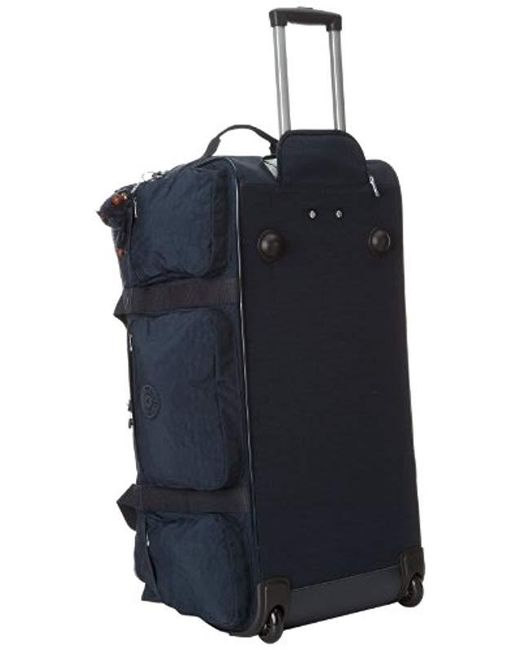 025adcbcd3bc ... Kipling - Blue Discover Solid Large Wheeled Luggage for Men - Lyst ...