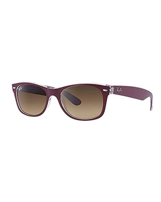d505854f8f8 Lyst - Ray-Ban 0rb2132 Square Sunglasses in Brown for Men - Save 2%