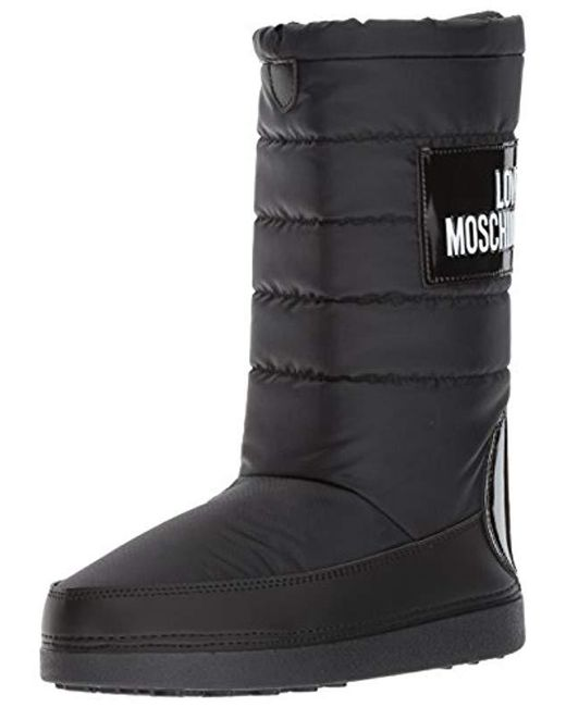 Love Moschino - Black Ja24212g04jk100a Fashion Boot - Lyst