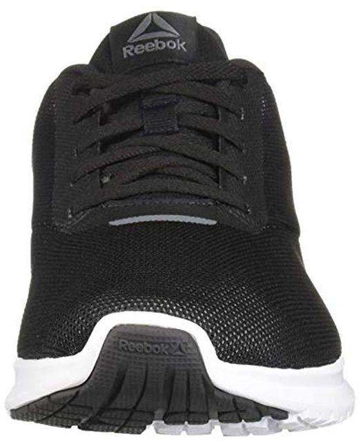 ee47e0c4f ... Reebok - Black Instalite Lux Running Shoe for Men - Lyst ...