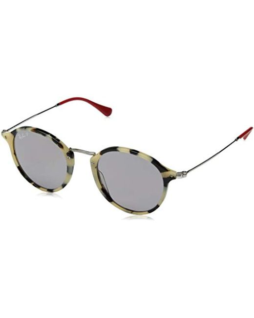 4ba586931bc Ray-Ban - Natural Rb2447 Round classic Sunglasses for Men - Lyst ...