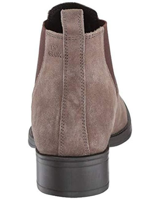 ... Geox - Brown Laceyin 1 Suede Chelsea Boot Ankle - Lyst ... bc0a3a362e9
