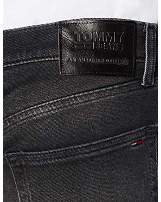 563f0173ae16 ... Tommy Hilfiger - Black Original Ryan Straight Fit Jeans for Men - Lyst