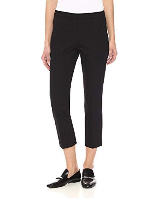 Theory - Black Basic Pull On Pant - Lyst