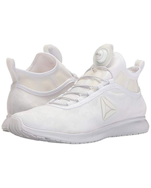 Lyst - Reebok Pump Plus Camo Running Shoe in White for Men - Save 25% 2ef0422aa