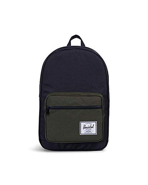 5453d083cac6 Herschel Supply Co. - Black Pop Quiz Mid-volume Backpack for Men - Lyst ...