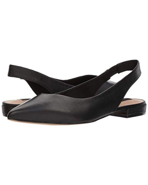 9382a125e53 ... Steven by Steve Madden - Black Lourdes Slingback Flat (sand Suede)  Women s Shoes ...