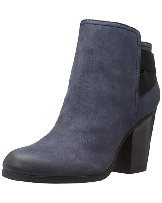 Kenneth Cole Reaction - Blue Might Make It Ankle Bootie - Lyst