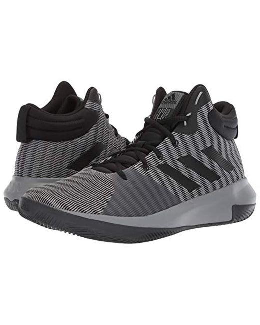 super popular db80c 5f009 ... Adidas - Gray Pro Elevate 2018 Basketball Shoe for Men - Lyst ...