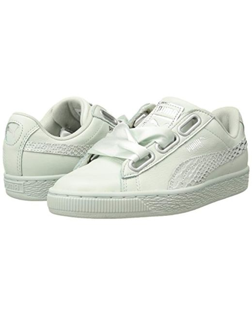 aeb03c51cc0 ... PUMA - Blue Basket Heart Oceanaire Wn Sneaker - Lyst ...