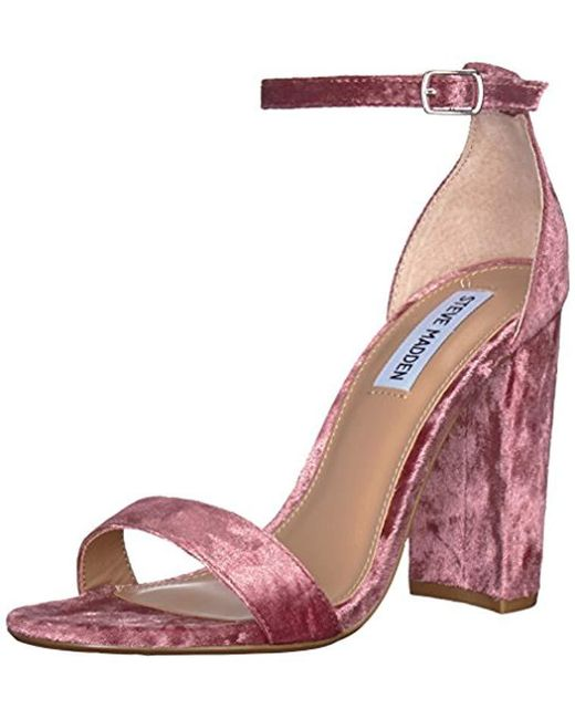 Steve Madden - Pink Carrson Dress Sandal - Lyst