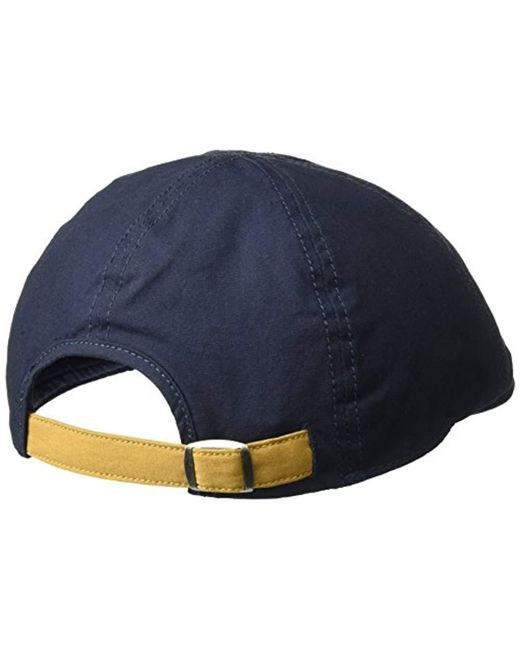 eadf0f15494 ... Perry Ellis - Blue Cotton Twill Driver Cap for Men - Lyst ...