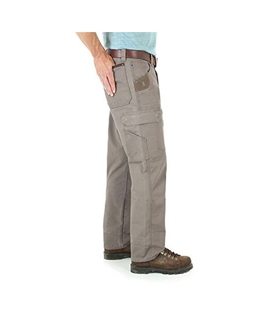 f923b20f ... Wrangler - Green Big And Tall Big & Tall Cool Vantage Cargo Pant for Men  ...