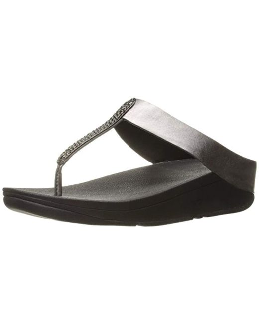 Fitflop - Black Barrio Flip Flop - Lyst