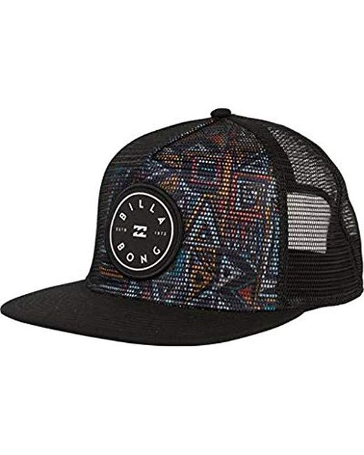 Billabong - Black Rotor Trucker for Men - Lyst