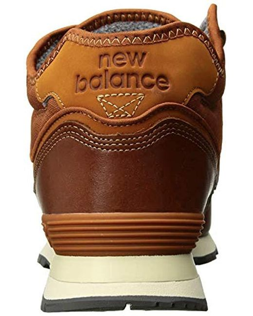 7bf5b34cda69d New Balance Iconic 574 Sneaker in Brown for Men - Save 17% - Lyst