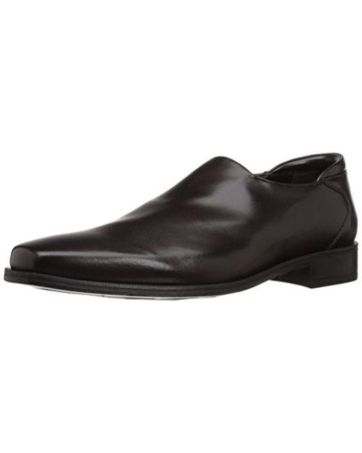 2bd41b77b6a Donald J Pliner - Black Rex Nappa Stretch Slip-on Loafer for Men - Lyst ...