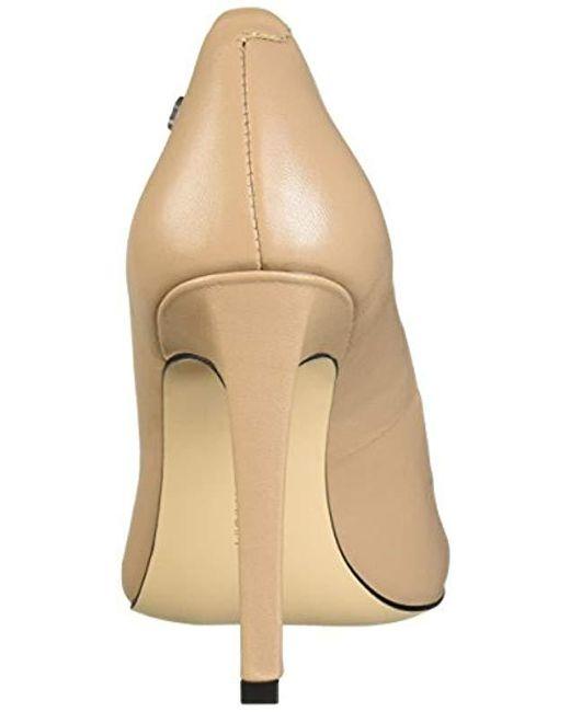 f5930469148 Lyst - Calvin Klein Brady Dress Pump in Natural - Save 50%