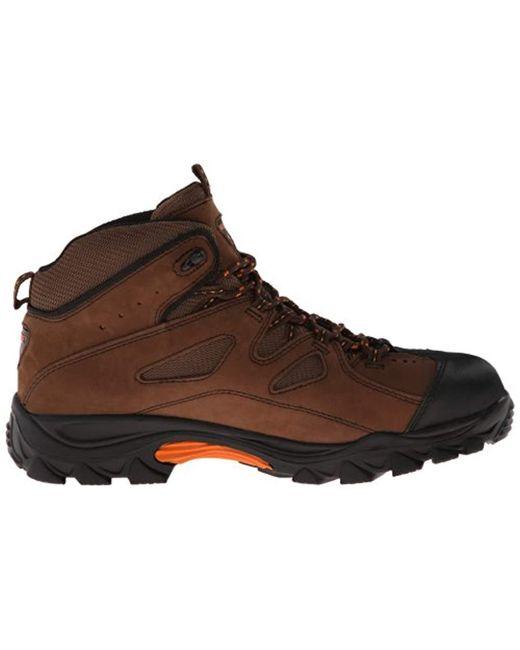 fc62c0ce24e Men's Brown Hudson W02194 Work Boot