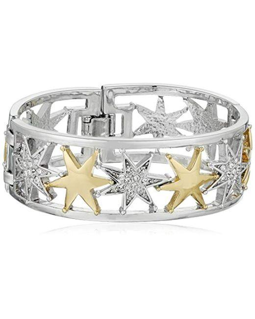 Nina - Metallic Infinity Bracelet - Lyst