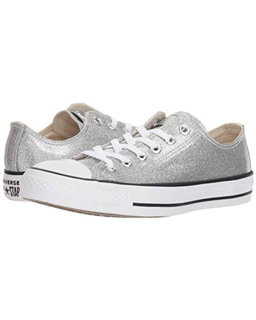 e028bdb1077a ... Lyst Converse - Metallic Unisex Adults' Chuck Taylor All Star Canvas  Trainers ...