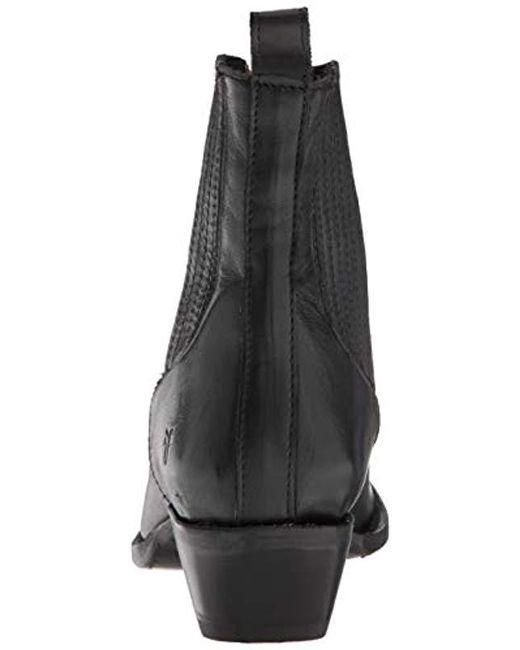 ae014434ad3 ... Frye - Black Sacha Chelsea Western Boot - Lyst ...