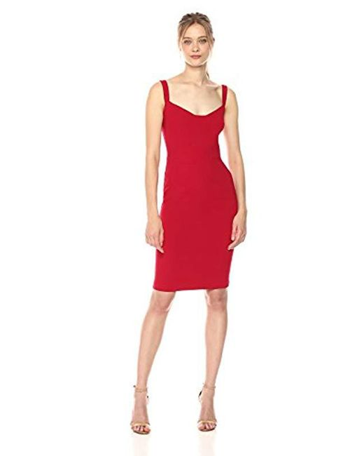 Black Halo - Red Vista Sheath Dress - Lyst