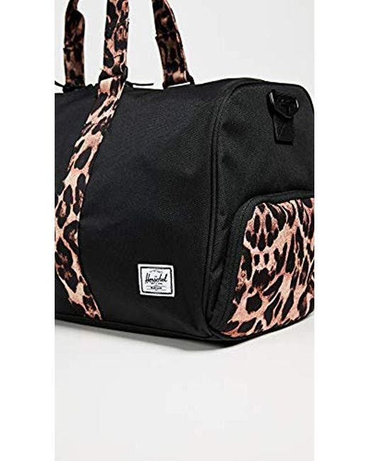 ... Herschel Supply Co. - Black Novel Mid-volume Duffel Bag - Lyst ... 288b74f66f153