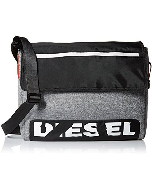 DIESEL - Gray Scuba Messenger Bag for Men - Lyst