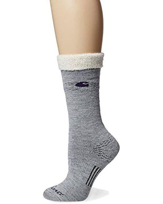 ccbdb41836 ... Carhartt - Gray Snow Flake Sherpa Cuff Graduated Compression Boot Sock  - Lyst