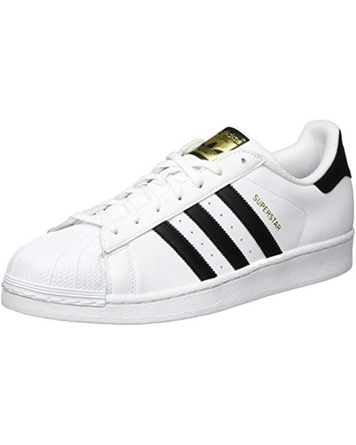 Adidas - White Superstar Bold Leather Sneakers - Lyst