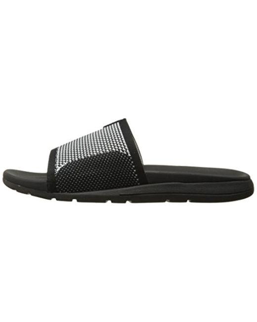 9c8ba43a33b ... Ugg - Black Xavier Hyperweave Slide Sandal - Lyst ...