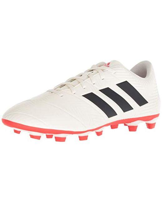 5f2961f23 Adidas - White Nemeziz 18.4 Firm Ground Soccer Shoe for Men - Lyst ...