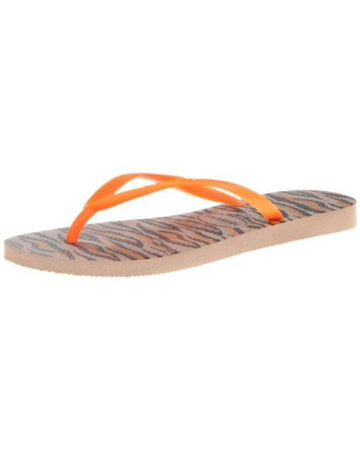 5d0be9fb42c Lyst - Havaianas Slim Flip-flop Sandals